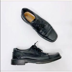 Ecco Helsinski Cap Toe Lace Up Dress Shoes